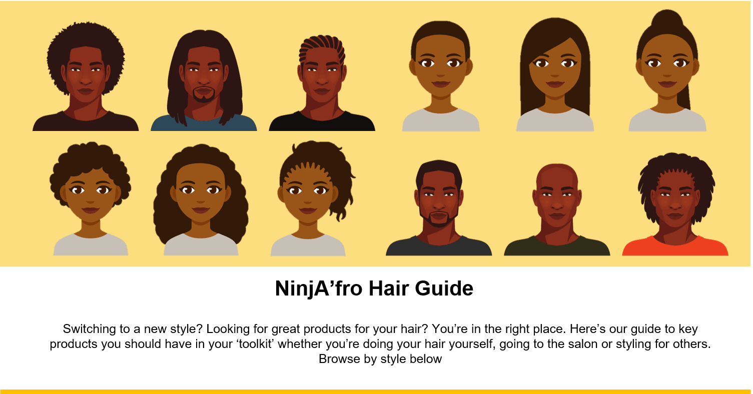 Guide to Afro Hair Products