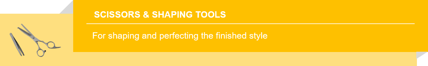 Scissors and Shaping Tools